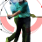 golf photomontage - perfect swing!