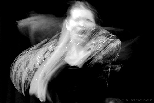 body art in a Flamenco wave - Madrid - © Doris Stricher