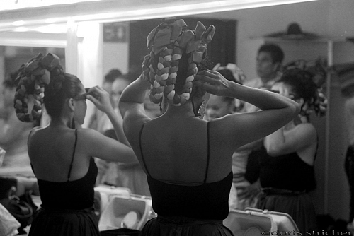 backstage-Coulisses-at the theater-dressing room-intimacy place - © Doris Stricher