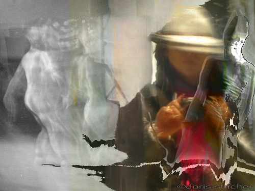 electric muses, photograpaphie, digiart, drawing - © Doris Stricher